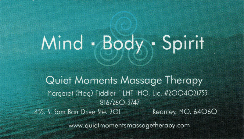Quiet Moments Therapeutic Massage